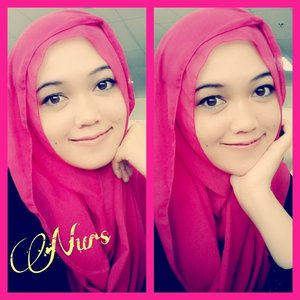 #Me #selfie #pinky #hijab use #hijabinstant #beauty n' #smile everyday #Clozette