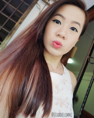 Kinda missing my #rosegold hair 😍 #throwbackselfie on 鸡年初一 🐤 #joannelummz #selfie #selca #igsg #sgig #potd #lotd #clozette #stylexstyle #latergram #throwback #getfash