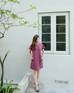 Last Friday's #ootd: Purple Nolita Flutter Sleeve Dress from #lovebonito #lbootd 💓 #joannelummzootd #igsg #sgig #potd #lotd #clozette #stylexstyle #latergram #throwback #getfash