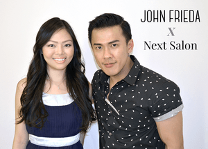 I took a shot with Dexter, a really cool celebrity hair stylist at NEXT Salon. You can get your free blowout session like I did. Find out how you can register here: http://bit.ly/1yClRMu  Your personal stylist, Roxanne