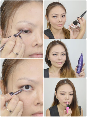 My latest tutorial is now up on the blog! I show you how you can create a purple and gold smokey eye that's great for day or night. I also share a tip on how you can voluminise thin/fine hair. It's all on the blog now: http://www.lacedivory.com