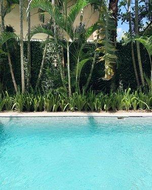 I always love a good pool. 👙💦🌴 #skinnyscouttravels #balilifestyle #poolsidechillin
