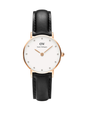 Here's a classic spin to the Daniel Wellington range of watches. With a rose gold buckle in Classy Sheffield (black strap), you can't get any more elegant than that. Get yours here:   Your personal stylist, Roxanne