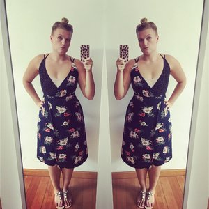 #ootd #ootn #floral #love #doubletrouble