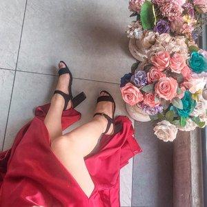 When in doubt, wear red. #clozette
