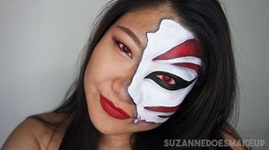 Gonna conquer another look tonight. This may look simple but it took me 4-6 episodes of Fairy Tail anime. I repainted my white at least 3 times for it to appear opaque while trying to avoid coloured areas where it's hard to see.  I don't own any yellow contacts hence I used red.  #clozette #clozetteco #sasasingapore #sephorasg #callingallcrafts #juicesg #dupemag #nylon #cleosg #singapore #beautyff #makeuplook #motd #groovymakeups #makeupwonderfulgirls #myartistcommunity #sfxandfacepaint #makeupporn #facepaint #facepainter #facepainting #bodypaint #bodypainter #bodypainting #bleach #ichigokurosaki