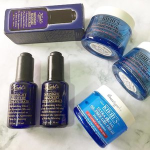 Such rainy weather calls of a little pick me up for my skin. I am sure that you can tell by my repurchases in this post. I have been a huge loyal fan of @kiehlssg Midnight Recovery Concentrate and Ultra Facial Oil Free Gel Cream. #clozette #kiehlssg