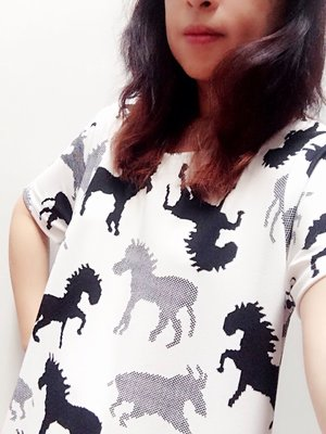 My year of the horse dress from the market