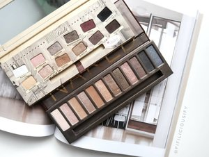 I still can't believe that #UrbanDecay is discontinuing their Naked Palette! It is one of my favourite neutral palettes (together with #TheBalm's NudeTude Palette), it has great quality and in my opinion the most versatile and universal of all their Naked palettes. Perhaps the era of Neutrals are dying off? Nahhhhh... they'll always be in... right?  ____  #clozette #makeup #flatlay #makeupsg #sgmakeup #instamakeup #makeupporn #makeupjunkie #beauty #sgbeauty #igsgmakeup #instabeauty #beautytalk #makeuptalk #makeupflatlay #nakedpalette #nudetude #urbandecaysg