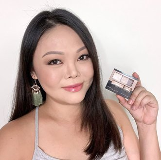 New video tutorial is now up on YouTube and the blog (link in bio for all IG fam)! Learn how you can easily re-create this natural gold-bronze smoky eye makeup with just one eyeshadow palette from @kate.tokyo.official_jp @katetokyo.sg. Bought this palette from @watsonssg and my eyeshadow collection is now complete. 👏🏻 This look is so wearable, I can even wear this to meet all clients and friends any time of the day - and so can you. More details on the rest of my makeup 💄 on the blog. xx