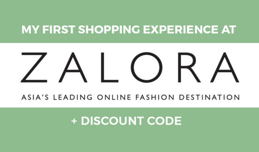 ANGEL MILCA: MY FIRST SHOPPING EXPERIENCE AT ZALORA + DISCOUNT CODE