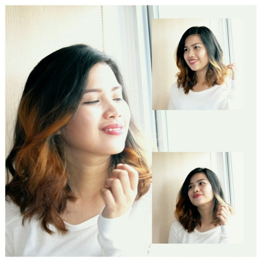My beachy waves for my shorty hair, new post in my blog. ^^  http://itsbeyondimaginations.blogspot.com/2015/09/beach-waves.html
