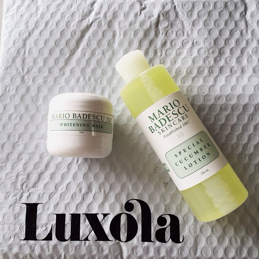 Oh look what do we have here... Some Skincare to combat those nasty blemishes and pimples for that time of the month! Thank you for the efficient service @luxolamy! Order today, reach the next day! #luxola #luxolamy