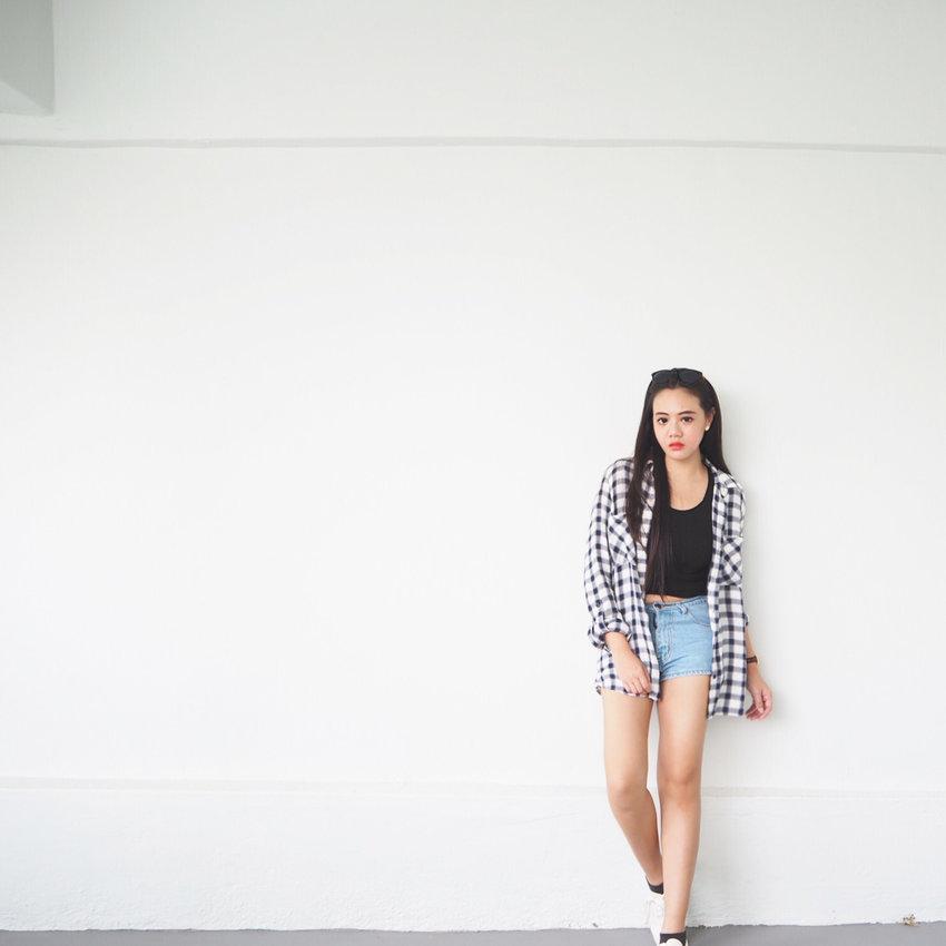 Flannels x denim for fall season ❤️