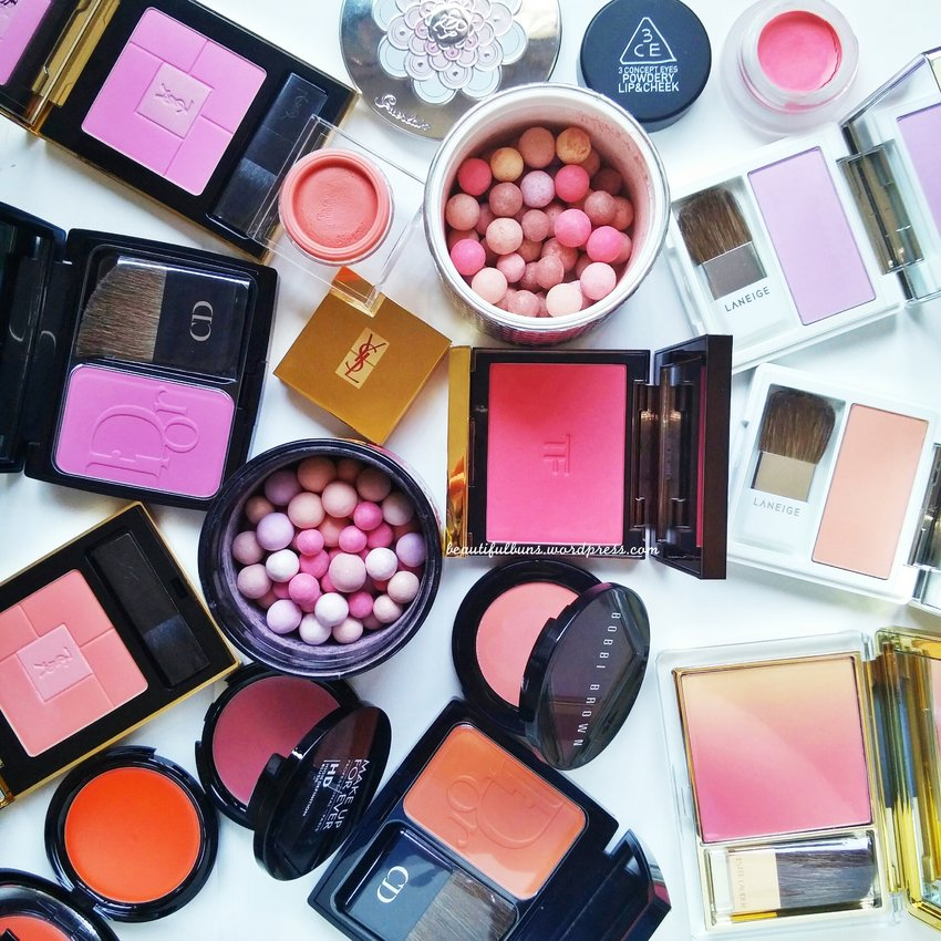 Pretty blushers to brighten up the day! :D