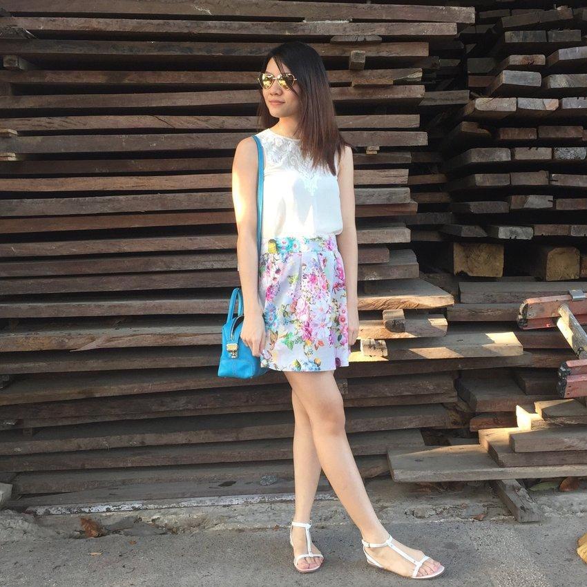 Summer glow ☀️✨ #pilipinasootd #dailyoutfitph #clozette #iamapreviewgirl #ootdphilippines #outfitpicksph #philippinesootd