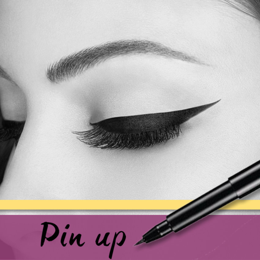 Eyeliner Style #7 - PIN UP