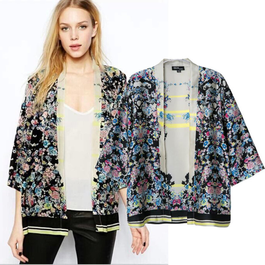 A must have in every woman's closet --- kimono.