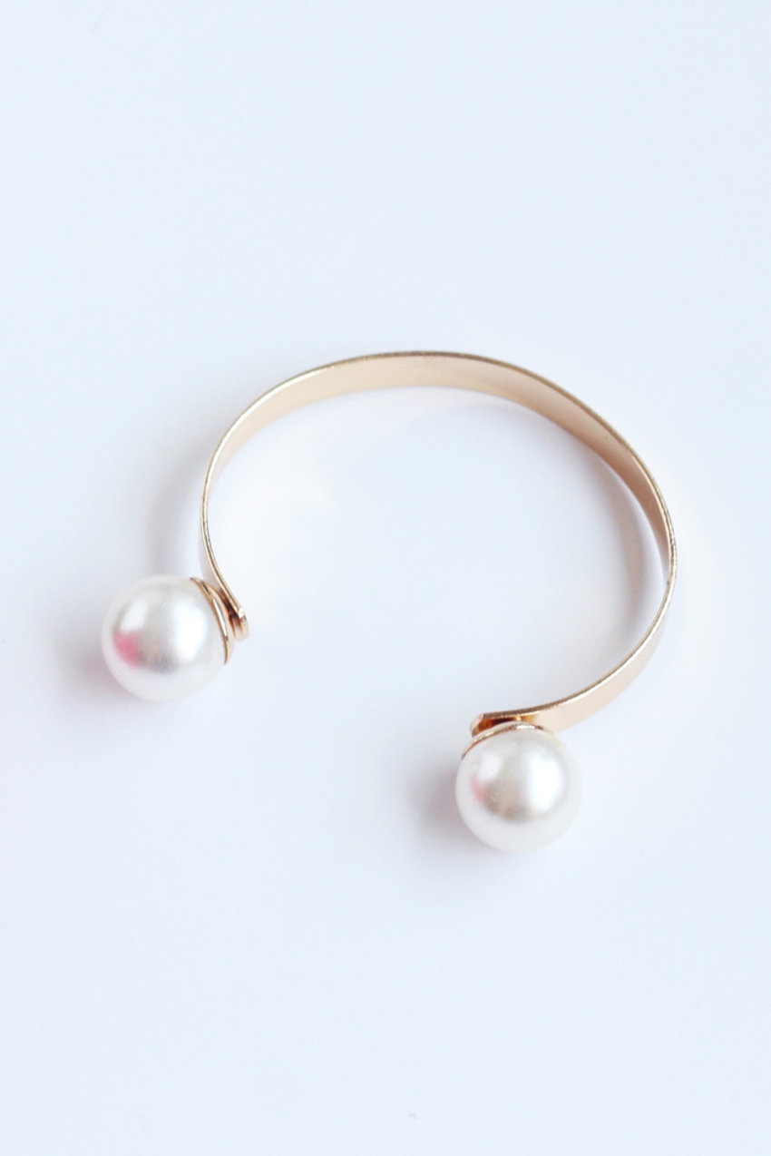 Duo Pearl Bangle for today