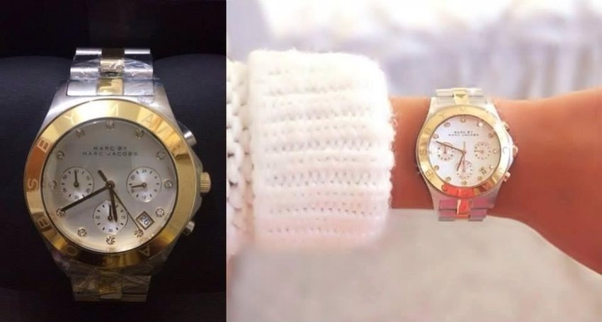 MARC JACOBS AUTHENTIC watch, US made.