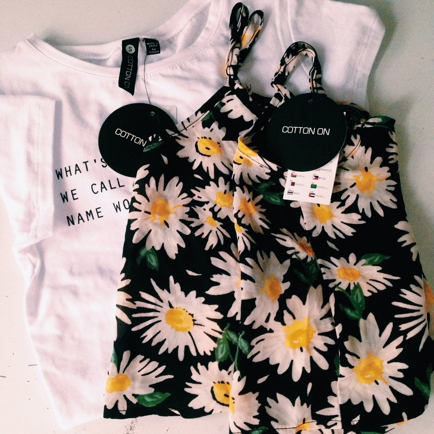 Recently went out to shopping and both are from cotton on  Crop top-$19.95 Sleeveless top-$5.00(U.P $19.95)
