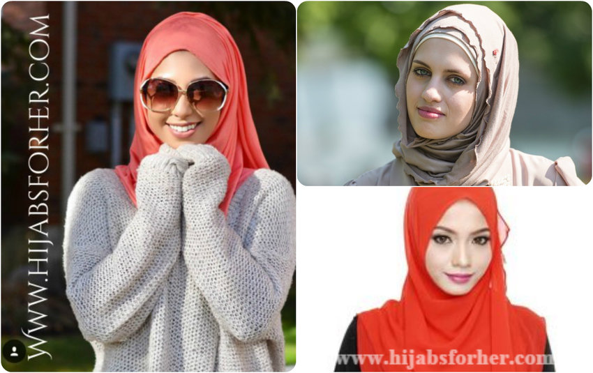 Wearing a hijab is pretty easy and there are not many complicated steps involved in wearing one.