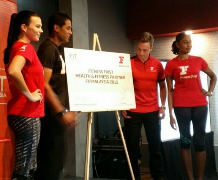Fit Malaysia launching #fitnessfirst #fitforfashion