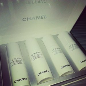 Started on the Chanel Le Blanc Intensive Night Whitening Treatment last night too. Launching in Mar. I hope it works!