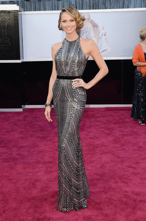 Best Oscars Dresses 2013 | Stacey Keibler in Naeem Khan