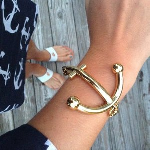 Anchors Away Bracelet by Kate Spade