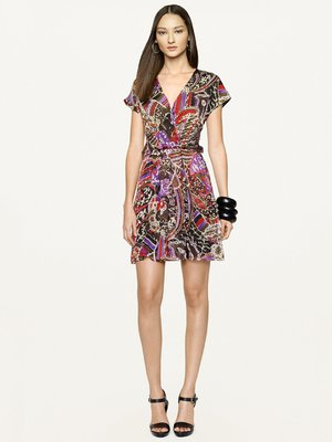 Ralph Lauren Black Label Floral-Print Maye Dress