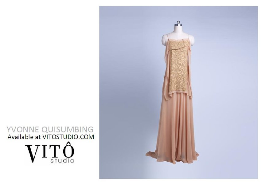 PICK OF THE DAY: YVONNE QUISUMBING dresses available at VITOSTUDIO.COM