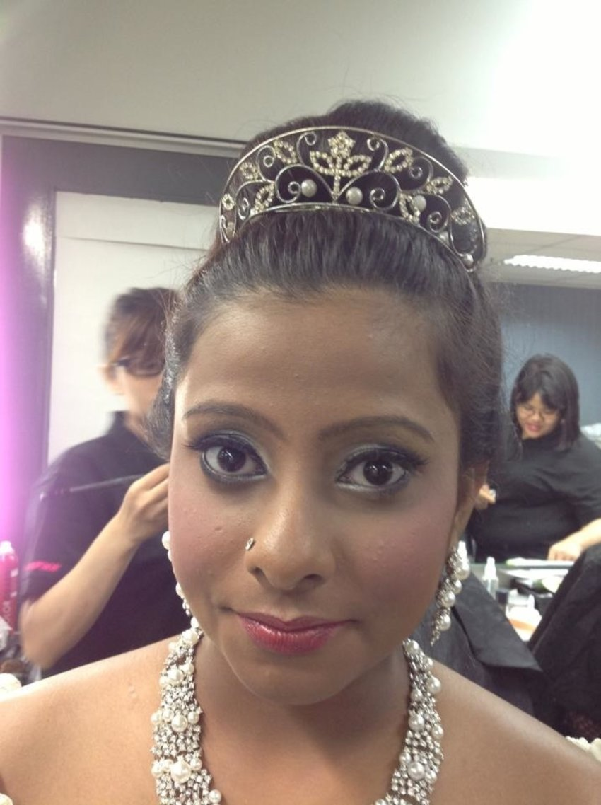 Hairdo n makeup by me :)